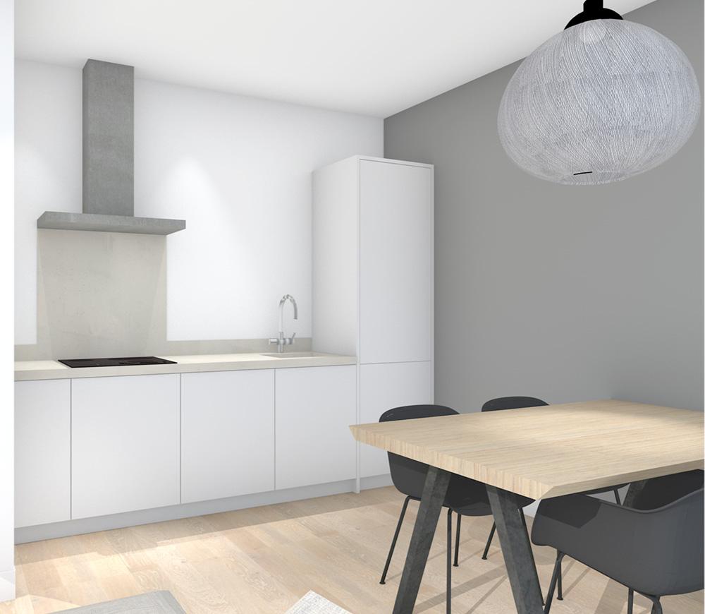 Studio Bregje - Portfolio - Appartement Haarlem 2